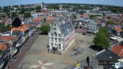 Daylight webcam view from Gouda: Town Hall cam