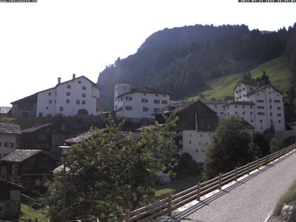 Splügen: Historischer Dorfkern