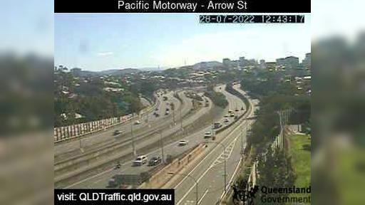 Webcam Woolloongabba: Pacific Motorway − Arrow Street (No