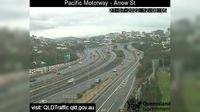 Brisbane City: Woolloongabba - Pacific Motorway - Arrow Street (North-West) - Dia