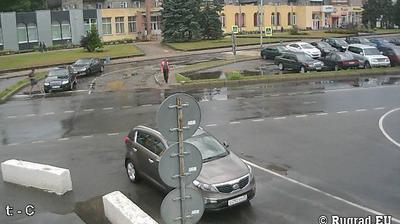 Webkamera Panemunė: Border crossing Sovetsk − Panemune − Сов