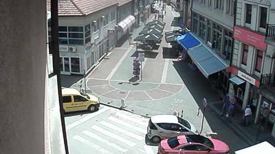 Vista de cámara web de luz diurna desde Gračanica: Gracanica.Net Webcam