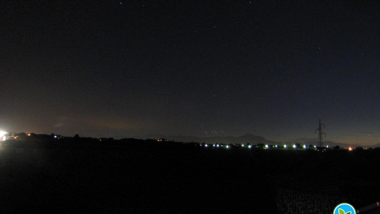 Webkamera Torrevecchia Teatina: Panorama ad Ovest con sfondo