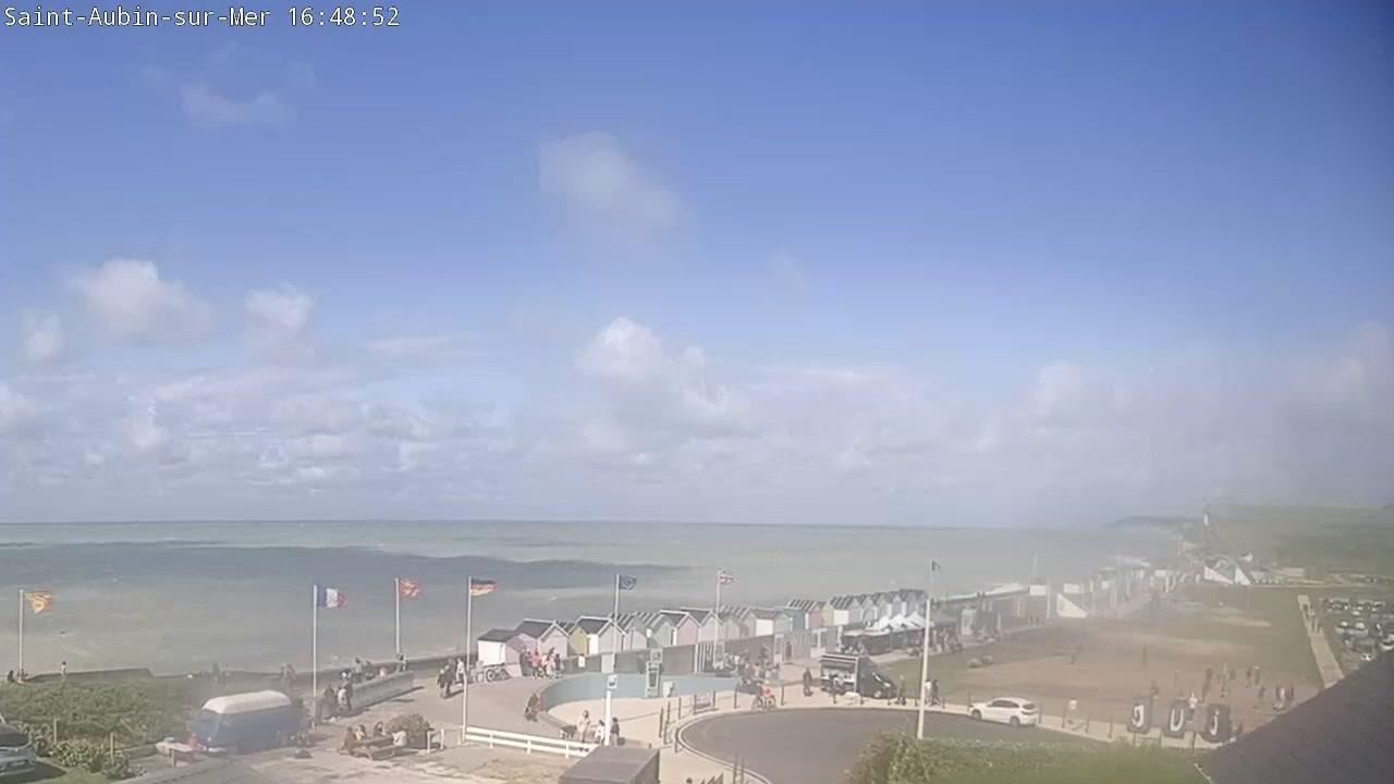 Webkamera Saint-Aubin-sur-Mer: Plage