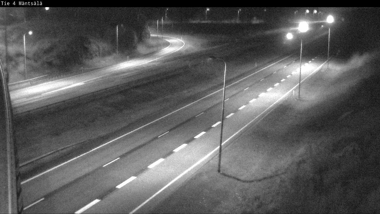Webkamera Mäntsälä: Tie 4 − Helsinkiin