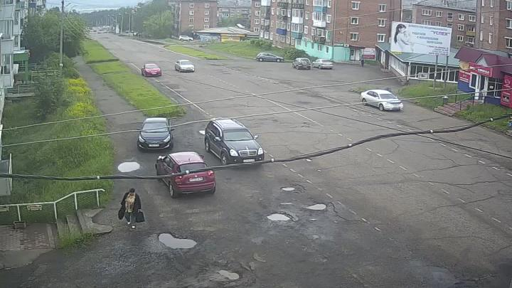 Webkamera Тулун › East: г − Площадь города
