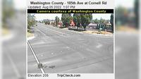 Hillsboro: Washington County - th Ave at Cornell Rd - Overdag