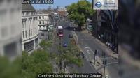 London: Catford One Way/Rushey Green - Day time