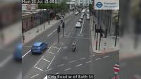 City of London: City Road w of Bath St - Jour