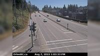 Mission › East: , Hwy  (Lougheed Hwy) at Hayward St in - looking south-east along Hwy - El día