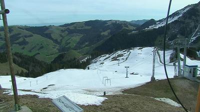Val-de-Charmey: Vounetse - Piste de ski