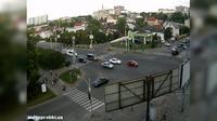Letzte Tageslichtansicht von Lviv