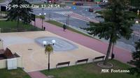 Opoczno: Lódzkie, Rzeczpospolita - Fontanna - Overdag