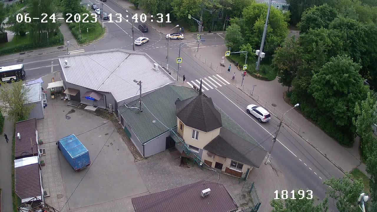 Webcam Котово: Вебкамера на пр. Пацаева
