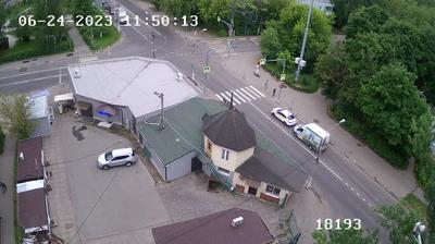 Vista de cámara web de luz diurna desde Котово: Вебкамера на пр. Пацаева