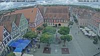 Neuhof an der Zenn: Neustädter Marktplatz - Dagtid