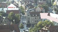 Zirndorf: Blick ueber − vom St. Rochus Turm aus