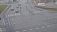 Krusa: Krus�, Flensborgvej - Sonderborgvej, Blickrichtung Ost - Overdag