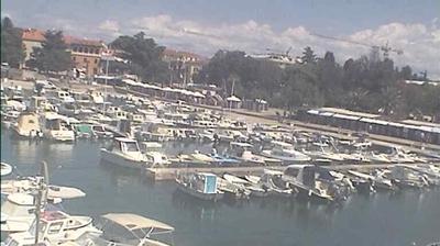 Vue webcam de jour à partir de Poreč: Marina