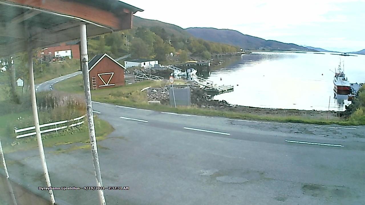 Webcam Dyrøyhamn