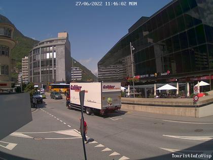 Visp: Bahnhofplatz