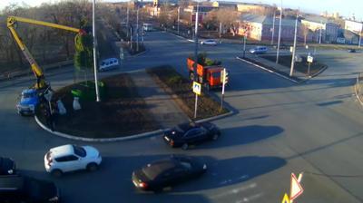 Webcam Orenburg: перекресток пр-т Парковый_ул.Рыбаковская