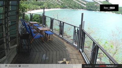 Vista de cámara web de luz diurna desde บ้านท้องนายปาน: Phangan − Panviman Resort