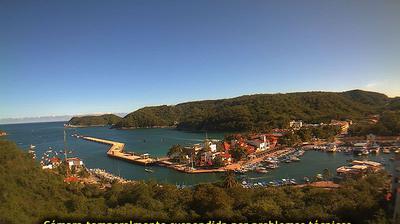 Vue actuelle ou dernière à partir de Bahía Santa Cruz › South: Bahia de Sta. Cruz Huatulco, Muelle de Cruceros, Darsena y Edifi