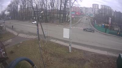Weather webcam Vishneve - Kievskaya region, Ukraina: j/d pereezd Vishnevoe, Kievo-Svyatoshinskiy area in Vyshneve, Kyivska region, Ukraine