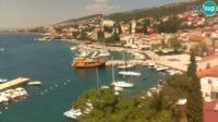 Crikvenica: Selce - waterfront - Overdag