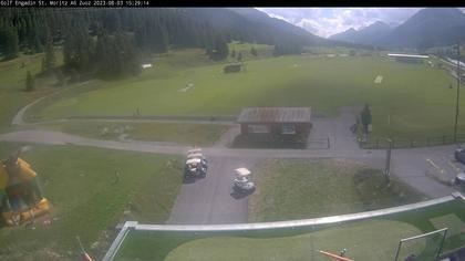 Zuoz: Schweiz: Golfplatz