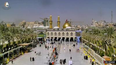 Vista actual o última desde Karbala › West: Imam Hussien Museum
