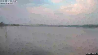 Webkamera Annapolis › South: Naval Academy Bridge − United S