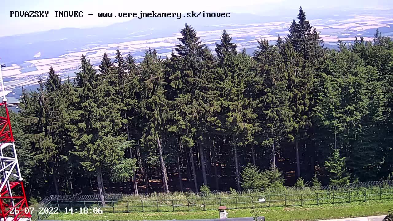 Webcam Považský Inovec › South-East: Inovec − Inovec Pova