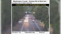 Durham: Washington County - Rd at nd Ave - Aktuell