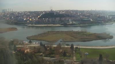 Vue webcam de jour à partir de Eyupsultan: İstanbul PİERRE _ LOTTİ