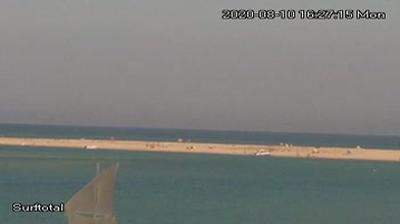 Monte Gordo Huidige Webcam Image