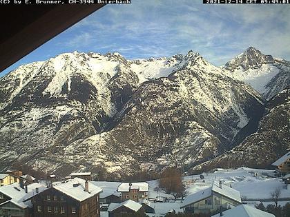 Unterbäch VS: Unterbäch Dorf