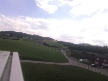 Münchwilen: Sicht Süd -Südost Hintergrund der Schauenberg
