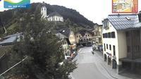 Ultima vista de la luz del día desde Grossarl: Marktplatz
