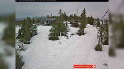 Vista de cámara web de luz diurna desde Stenfjellet › North West: Stenfjellhytta