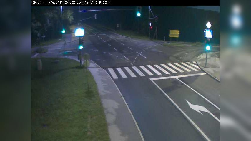 Webcam Mošnje: R2-452, Lesce − Črnivec, Podvin