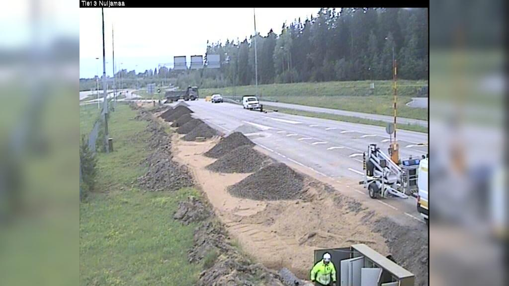 Webcam Nuyyama: Tie13 Nuijamaa − Lappeenrantaan