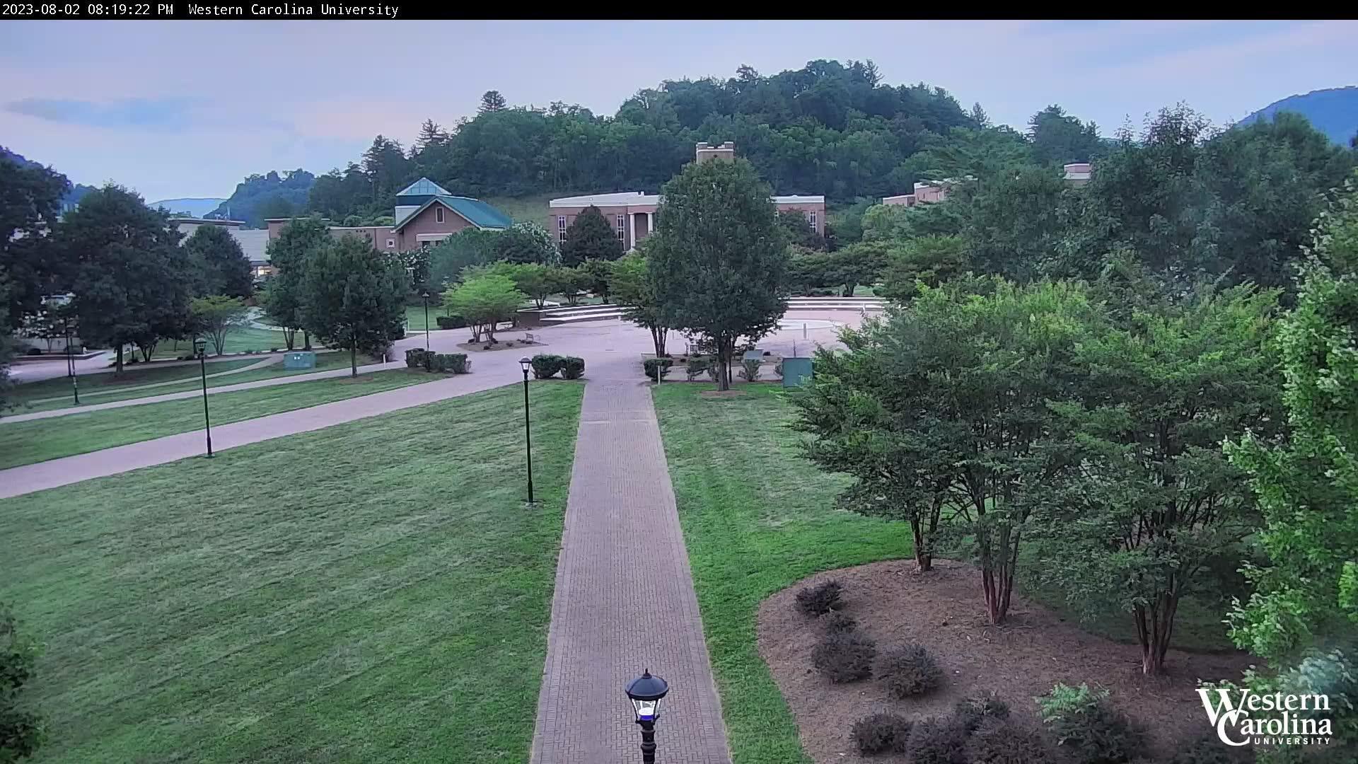 Webkamera Cullowhee: WCU UC Lawn