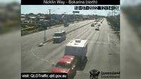 Caloundra: Nicklin Way - Bokarina, Main Drive intersection (looking North) - Day time