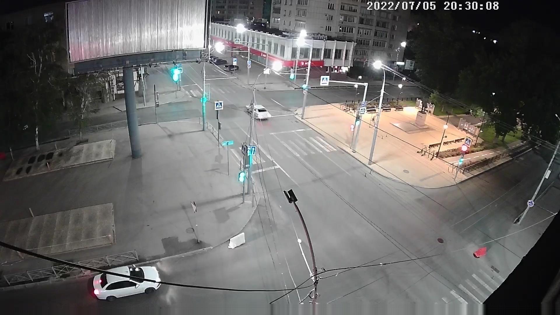 Webcam Красноармейская слобода: Рахова-Московская