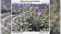 Portland: US at Ross Island Bridge - Overdag