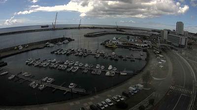 Vista de cámara web de luz diurna desde Ponta Delgada