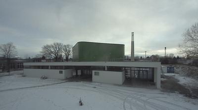 Webcam Wagram: Baustelle der Moschee in Graz