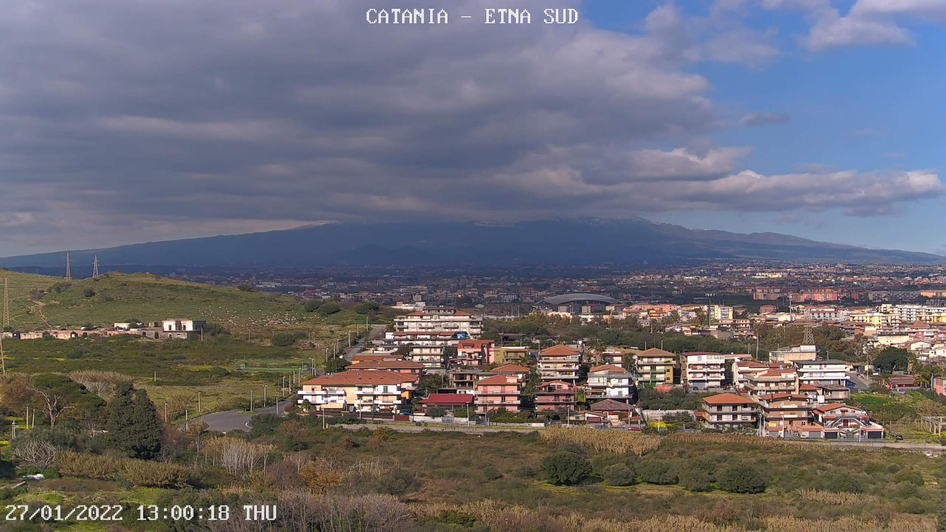 Webcam Catania: Etna